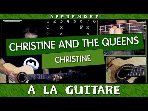 Apprendre Christine de Christine and The Queens - guitare