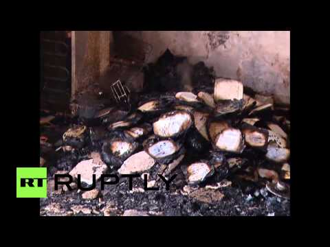 State of Palestine: Illegal settlers 'set fire' to West Bank mosque