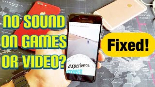 iPhone 7 or 7 Plus: No Sound on Games or Videos? Fixed!!!