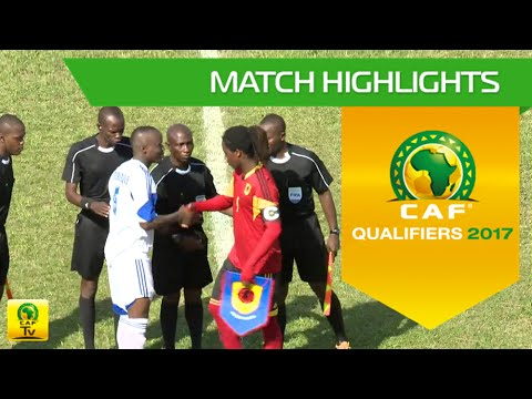 Central African Republic Vs Angola   Africa Cup Of Nations Qualifiers 2017