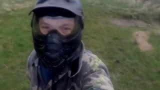Paintball War with Gopro