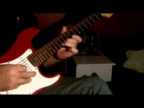 O Mere Dil Ke Chain  Guitar Instrumental  :-)
