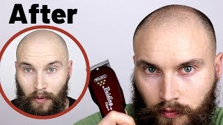 BALDING HEAD SHAVE - WAHL BALDING CLIPPERS