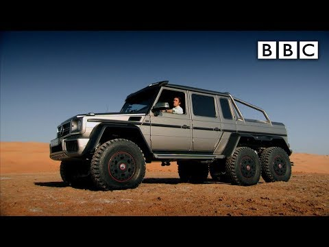 Richard Hammond tests a 6x6 SUV in Abu Dhabi - Top Gear: Series 21 Episode 4 - BBC Two