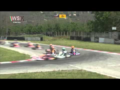 WSK SUPER MASTER SERIES 2015 ROUND4 60 Mini FINAL