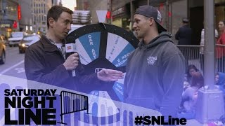 Saturday Night Line: SNL Fans Take a Spin