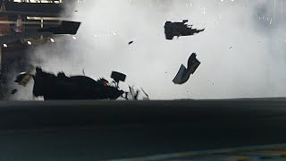 Top 8 Le Mans Crashes Caught On Camera   NO FATAL   Worst Crashes   HD