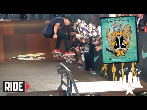 Tampa Pro 2013 Qualifiers and Best Trick