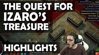 """Path of Exile Ascendancy: The Labyrinth - The Hunt for """"Uber"""" Izaro's Treasures (Highlights)"""