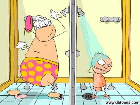 PLOK ! Swimming pool  - Shower singers