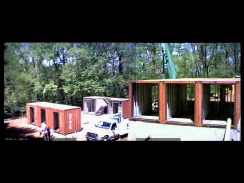The quik house a time lapsed installation of a - Kalkin shipping container homes ...