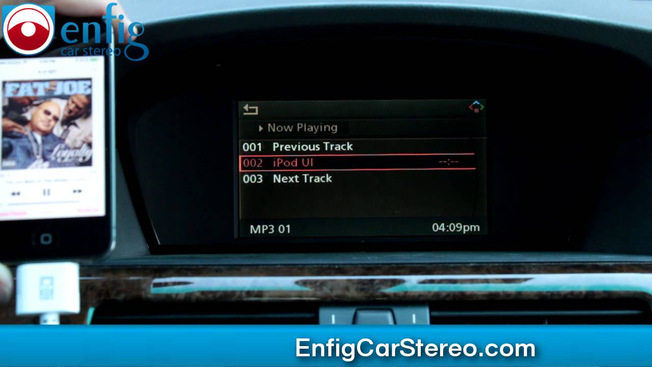 Bmw 5 series e60 bluetooth ipod aux usb adapter youtube