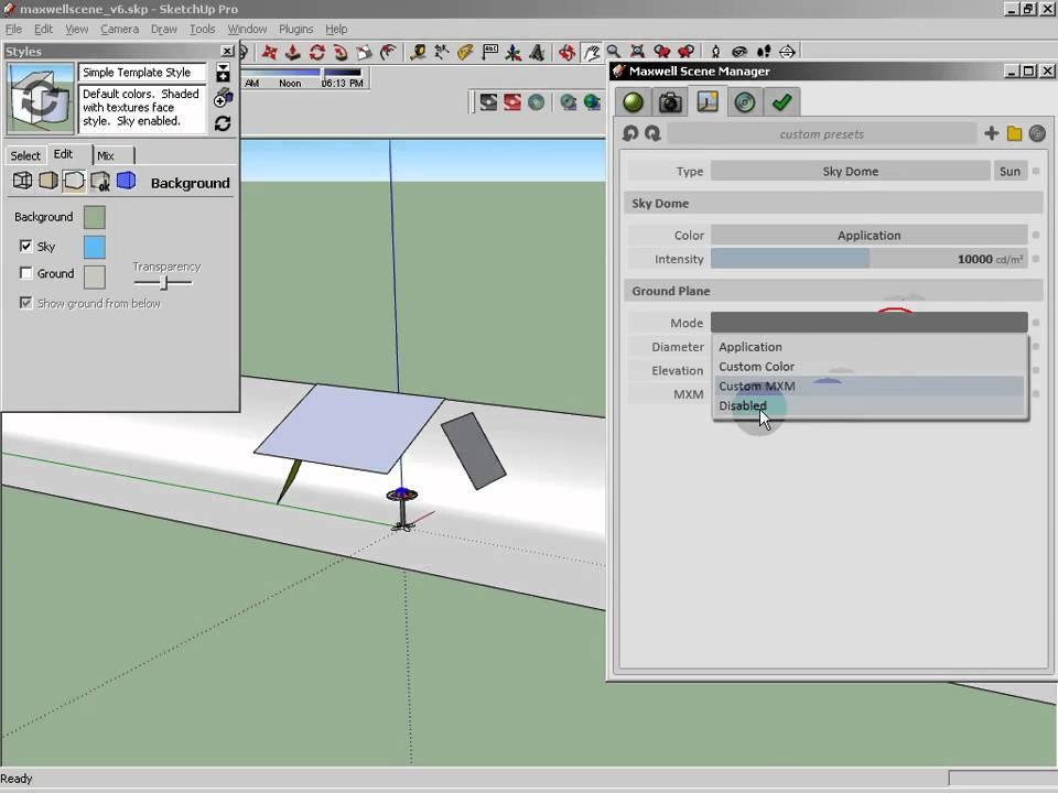how to make sketchup file light