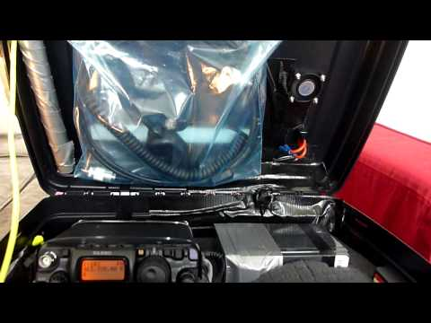 Yaesu FT-817 Solar Powered Go-Pack: Battery test - Part 1