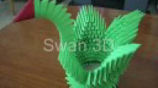 How To Make Swan 3d Origami Tutorial By Doriansol