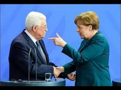 """Angela Merkel trifft Palästinenserpräsident Abbas: """"Die Welt darf uns nicht vergessen"""" 19.04.2016"""