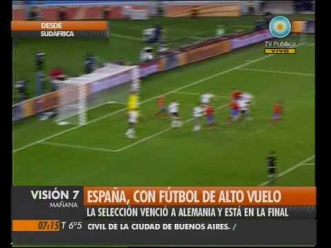 Visión Siete: España, con fútbol de alto vuelo