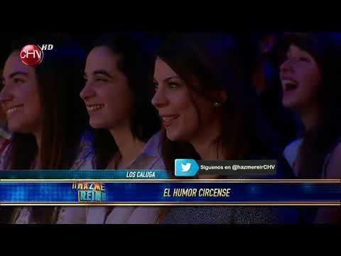 Los Calúga hicieron reír como niños al público en ¡¡Hazme Reir!! - 01/07/2013 - CHV
