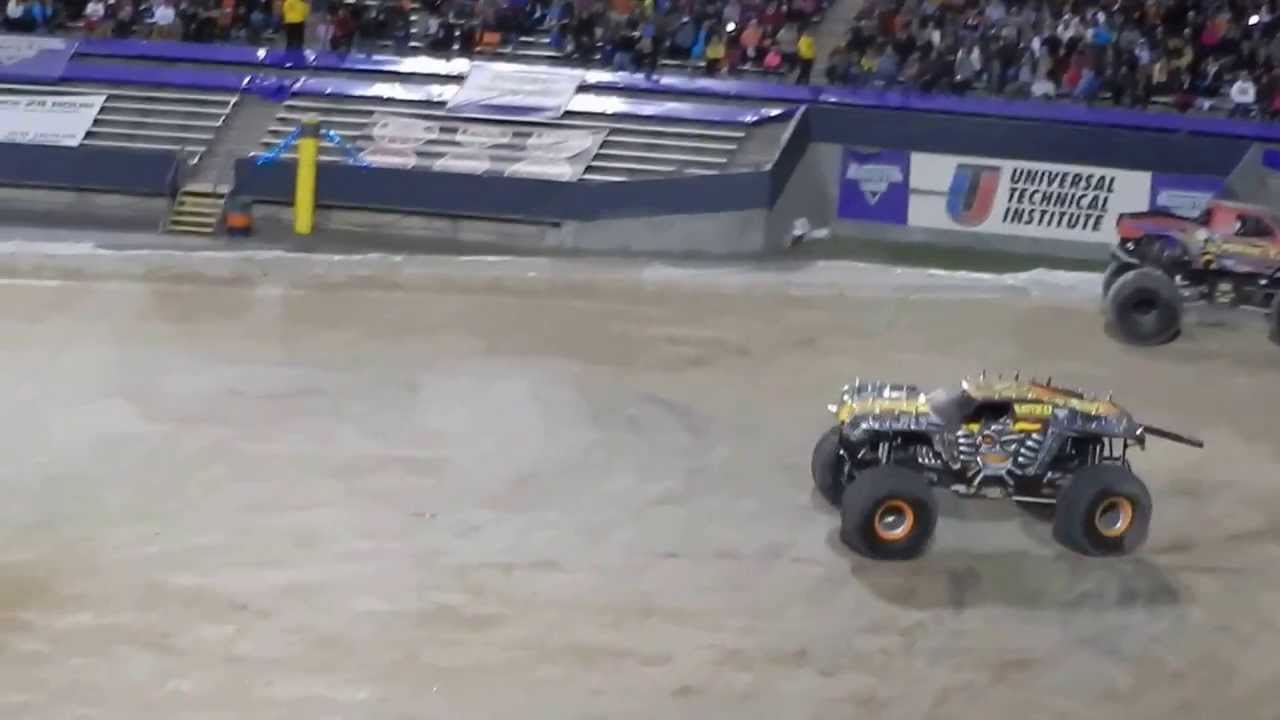MAX D Freestyle End part 1- MONSTER JAM - MARCH 1 2014 ...