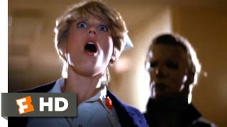 Halloween II (7/10) Movie CLIP - Knifing the Nightshift Nurse (1981) HD