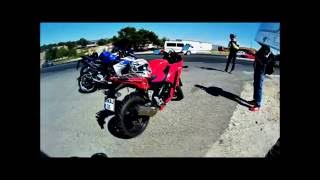 YZF R25 & CBR250 Top speed denemesi