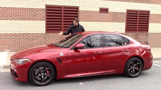 Here's Why the Alfa Romeo Giulia Quadrifoglio Is Worth $80,000