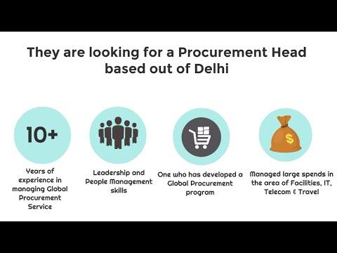 Head of Procurement   Job Description