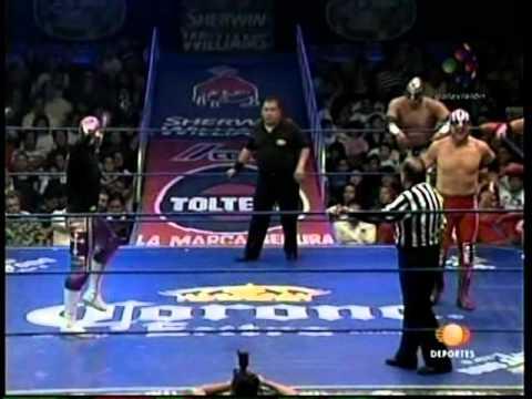 CMLL: Místico, Volador Jr., La Sombra vs. Último Guerrero, Mr. Niebla, Atlantis, 2009/07/31