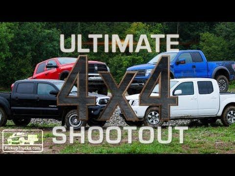 2012 Ultimate 4x4 Truck Shootout