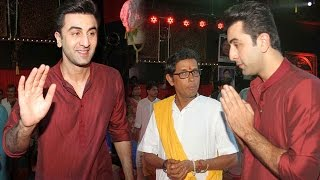 Ranbir Kapoor And Other Attend North Bombay Sarbo Janin Durga Pooja