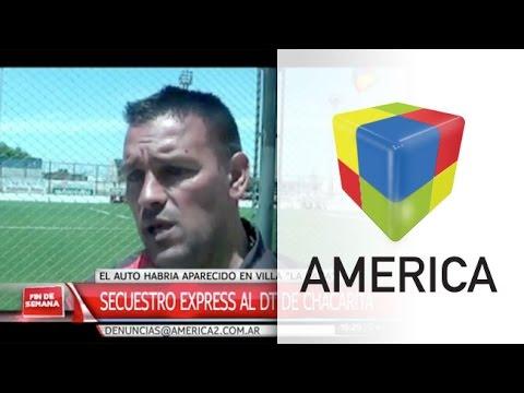 Fernando Gamboa, víctima de un secuestro exprés