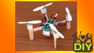 █ How to make a Quadcopter at home █