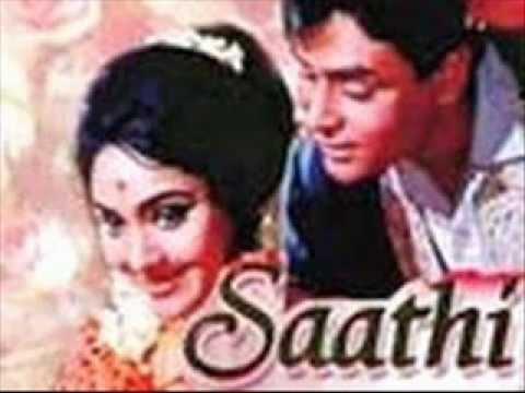 Sathi=mera Pyar Bhi Tu Hai Ye Bahar Bhi { Jhankar } Mukesh  Lata video