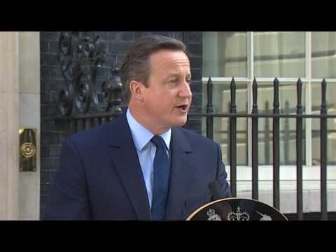 British PM David Cameron resigns after Brexit vote