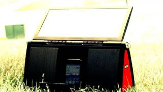Review: Soulra XL_ Solar Powered iPhone/iPod Speaker Dock Review