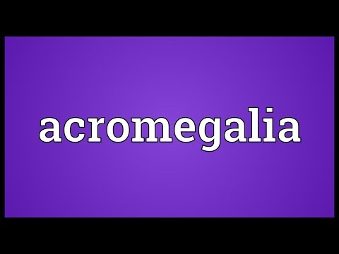 Header of Acromegalia