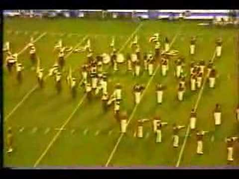 Razorback Band Pregame vs. Tulsa 1985 Video