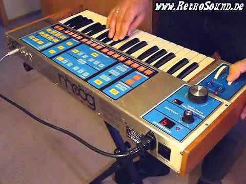 Moog Source Analog Synthesizer (1981) Music Videos