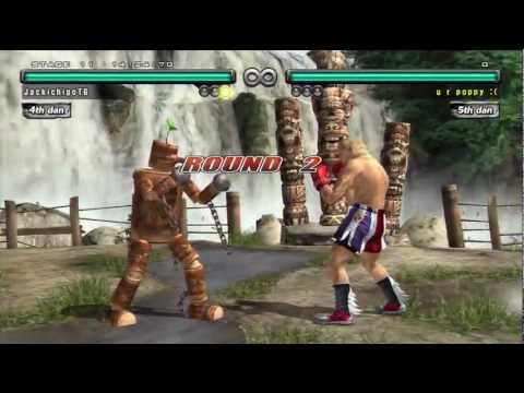 Tekken 5 Dr Hd - Random Mokujin video