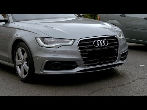  Audi's automatic driving in traffic jams