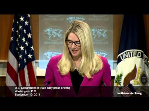 North Korea questions at State Dept. briefing, Sept. 10, 2014