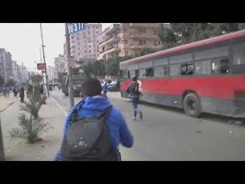 Four dead as gunfire and fighting fill the streets of Egypt in another day of protests
