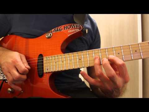 Greg Howe - Licks