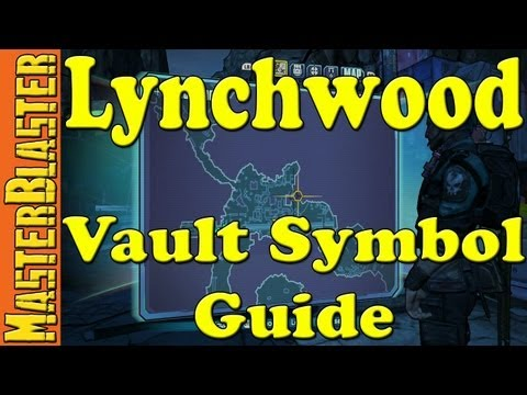 Borderlands 2 Lynchwood Cult Of The Vault Symbol Locations