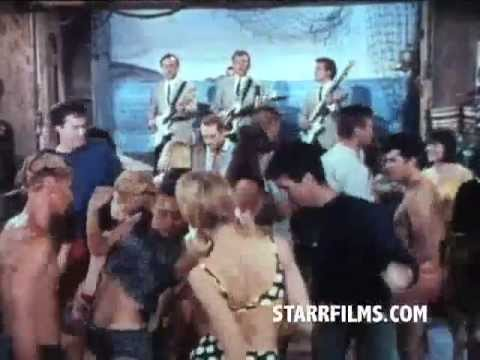 GIRLS ON THE BEACH Movie Trailer 1965