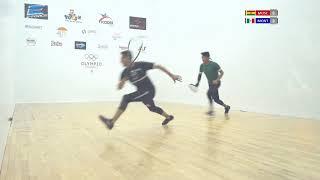 2018 Racquetball World Championships - Men's Quarterfinals - Montoya MEX vs Moscoso BOL