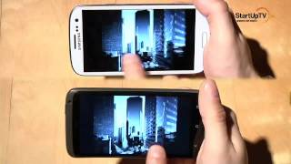 HTC ONE X vs. Samsung Galaxy S III test recenzja porwnanie