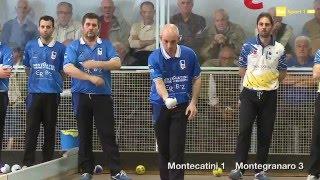 Serie A raffa 2016 - 16a giornata - Montecatini Avis - Montegranaro - Sintesi RaiSport
