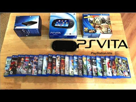 Playstation Vita Collection - PS Vita. PS TV & 30+ Games...