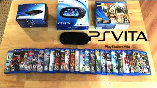 Playstation Vita Collection - PS Vita, PS TV & 30+ Games...